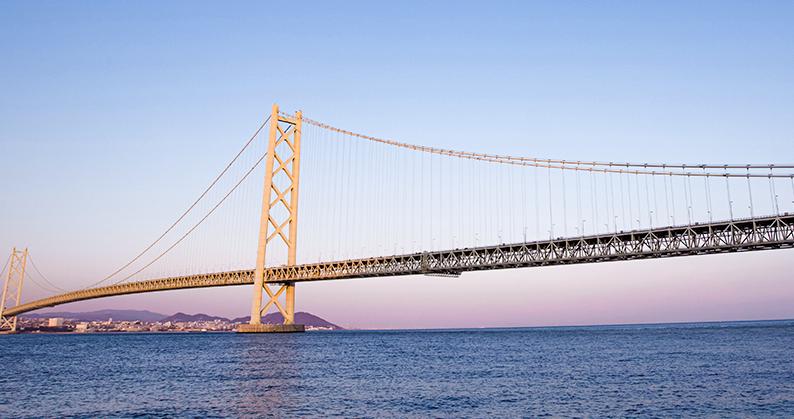 美しい海と橋